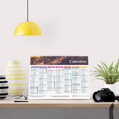 Exemple de calendrier rembordé