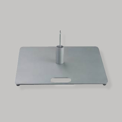 Type d'embase : metallique plate 8kg