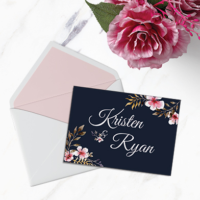 Exemple de carte d'invitation