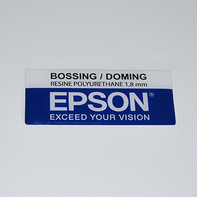 Impression doming bossing