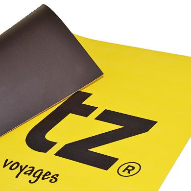 Magnet imprimé support 0,8 mm