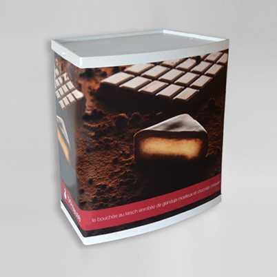 impression comptoir accueil visuel pvc pas cher et en ligne. Black Bedroom Furniture Sets. Home Design Ideas