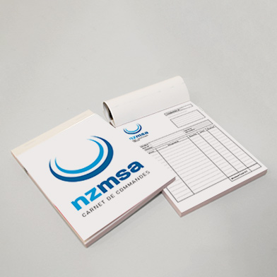Impression Carnet Papier Carbone Pas Cher En