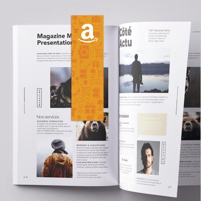 Exemple de marque page imprimé
